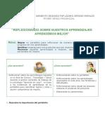 Primer Grado_ficha de Trabajo Jornada de Reflexion Ciclo Vi Ciencia y Tecnologia_1