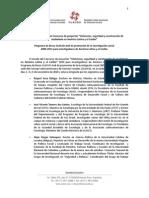 Dictamen del Jurado del Programa de Becas CLACSO-Asdi 2010
