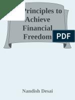 11 Principles to achieve Financial Freedom - Nandish Desai