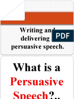 fully written persuasive speeches Let us know and we will write a persuasive essay top 101 best persuasive essay topics in 2017 writing persuasive essays and speeches stretches your.