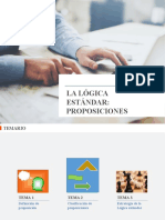 HU210 Sem7 Ppt Presencial Lógica Estándar - Proposiciones VF
