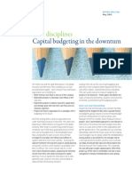 Alsdorf - Capital Budgeting in the Downturn