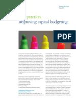 Alsdorf - Improving Capital Budgeting Five Practices - Final