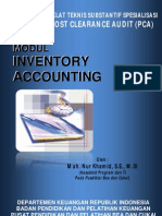 Modul PCA Inventory Accounting