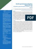 Dialnet-MastitisGranulomatosaIdiopaticaReporteDeCaso-6792225