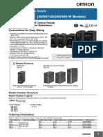 Switch Mode Power Supply S8VK-S Datasheet En