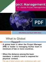 Global Project Management ppt