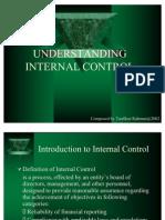 Ch 9 UNDERSTANDING INTERNAL CONTROL