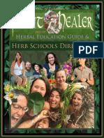 Plant Healer 2020 Herbal Education Guide & Schools Directory