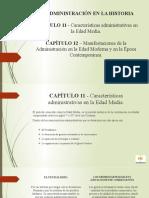CAPITULO 11 Y 12 - ADMON