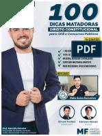 - 100 DICAS MATADORAS - Direito Constitucional