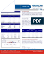 DERIVATIVE REPORT FOR 01 FEB - MANSUKH INVESTMENT AND TRADING SOLUTIONS