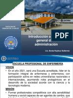 3. Introducción a la Teoría General de la administración .