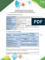 Guía de actividades  - Fase 2 - Introducción al análisis espacial_modelacion