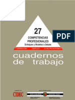 Competencias Profesionales Cuadernos de Trabajos