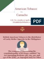 5. British American Tobacco v Camacho.pptx