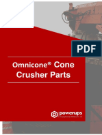Omnicone® Cone Crusher Parts Manual