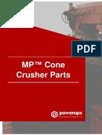 MP™ Cone Crusher Parts Manual