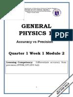 Gen Phy. Module 2