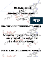 Bioenergetics and Biological Oxidation PPT-PDF