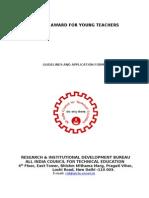 Career Award for Young Teachers