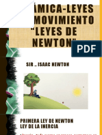 Dinámica-leyes Del Movimiento