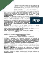 ASOCIACION LA ESPERANZA DEL CONSUMIDOR