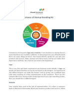 Importance of Startup Branding Kit – Visual Catalyst