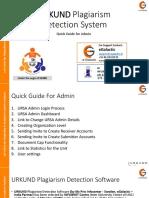 URKUND - Admin Guide