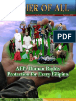 Soldier of All (September 2010 Issue) - Human Rights Protection