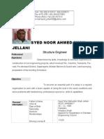 Engr.syed noor ahmed shah CV