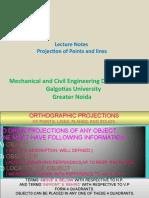 projectionofpointsandlines