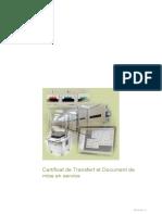 Certificat de Transfert