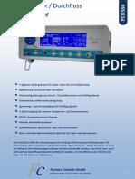Durchflusskalibrator-FCO560