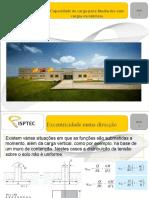 Fundações com cargas excentricas.ppt
