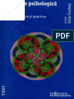 Iulia Ciorbea - Evaluarea psihologică aplicată. Repere teoretice şi practice.pdf