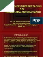 principios de interpretacion del  hemograma automatizado