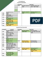 ATHLETISME SPORT ADAPTE Championnat de France 2020 horaires