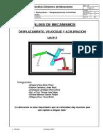 Lab 5- Desplazamiento Velocidad Aceleración..