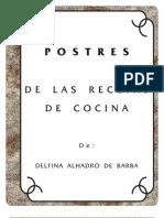 Postres (Edición 2007)