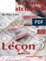 Les Leçons de Patchwork (3)