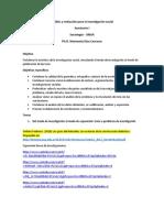 Análisis y redacción para la investigación social