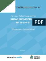 MOP l Rutas Provinciales Nº 41 y Nº 51 (1)
