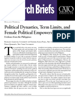 Political Dynasties, Term Limits, and Female Political Empowerment