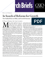 In Search of Reforms for Growth
