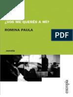 Paula, Romina - ¿Vos me queres a mi.epub