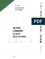 Guide Pratique de Dimensionnement Des Chaussees Pour Les Pays Tropicaux