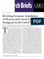 Revisiting Economic Assimilation of Mexican and Central American Immigrants in the United States