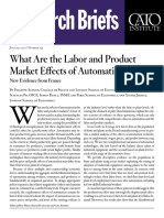 What Are the Labor and Product Market Effects of Automation? New Evidence from France