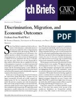 Discrimination, Migration, and Economic Outcomes